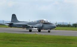 Strikemaster of straalprovost trainer en de uitstekende straal van de grondaanval Stock Foto