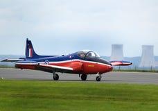 Strikemaster of straalprovost trainer en de uitstekende straal van de grondaanval Royalty-vrije Stock Fotografie
