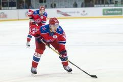 Striker CSKA № 34 Igor Grigorenko Stock Images