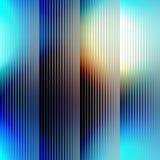 Strikes on blue blur background Stock Photos