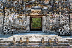 Striking Architecture in Chicanna, Mexico royalty free stock image