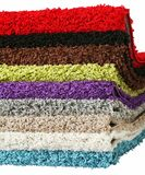 Striking doormat set with multiple colors royalty free stock photos