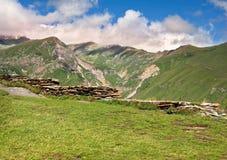 Striking mountain landscape Stock Image