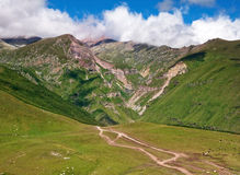 Striking mountain landscape Stock Photos
