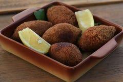 Strikt vegetarian Kibbeh Royaltyfria Bilder