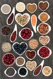 Strikt vegetarian och vegetarisk hälsokost arkivbilder