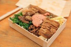 Strikt vegetarianChi Shang Lunch Box Royaltyfria Foton