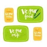 Strikt vegetarianmatetikett Royaltyfria Bilder