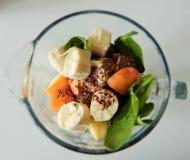 Strikt vegetarianSmoothie arkivfoton