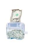 Strimla dina pengar - $1 Royaltyfria Foton