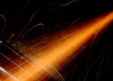 Strimma av ljus Fotografering för Bildbyråer