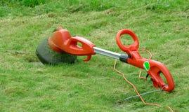 Strimmer gräsklippningsmaskin Royaltyfri Foto