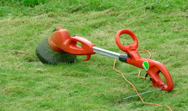 Strimmer mower royalty free stock photo