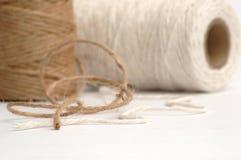 String. Linen string Royalty Free Stock Photo