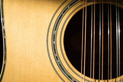 12 String Acoustic Royalty Free Stock Photos