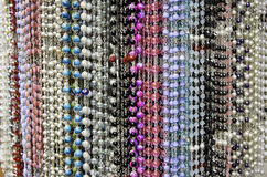 String beads rosary Royalty Free Stock Images