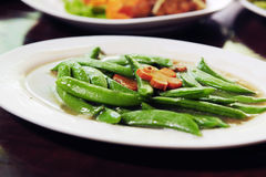 String bean fried Royalty Free Stock Photos