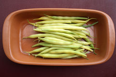 String bean in pods Royalty Free Stock Photography