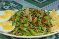 String bean spicy salad Stock Photo