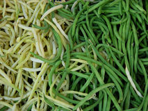 String beans. Background of string beans royalty free stock image