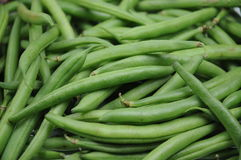 String beans. A bunch of fresh string beans Stock Images