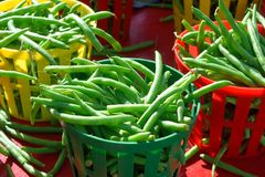 String Beans Royalty Free Stock Photography