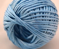 String in blue color Royalty Free Stock Photos