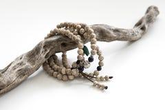 A string of Bodhi Bracelet Stock Photo
