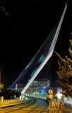 String bridge of the architect Santiago Calatrava Stock Photo
