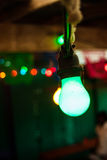 String of Colored Lights Stock Images