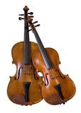 String duo. Violin and viola Royalty Free Stock Images