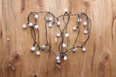String of Fairy Lights Royalty Free Stock Images