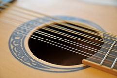 12 string guitar. Image of a 12 string guitar Stock Images