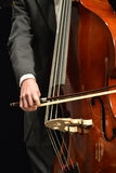 String Instrument. String instrument at a college concert Stock Photo