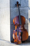 String instruments at sabatini garderns Royalty Free Stock Photo