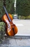 String instruments at sabatini garderns. Royal palace, madrid,spain Stock Photos