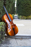 String instruments at sabatini garderns Stock Photos