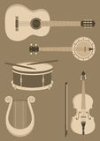 String Instruments Stock Photo