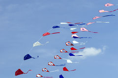 String of Kites Stock Image