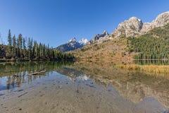 String Lake Fall Reflection Royalty Free Stock Image