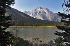 String Lake, Grand Teton National Park, Wyoming, USA royalty free stock photography