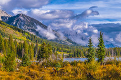 String Lake Grand Tetons Stock Photo