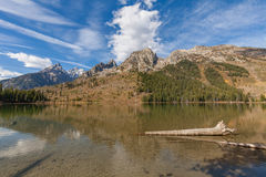 String Lake Teton Reflection Stock Photo