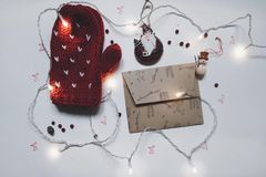 String, Lights, Christmas, Decor Stock Photo