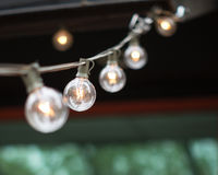 String of lights Royalty Free Stock Images