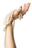 String of pearl Royalty Free Stock Photography