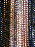 String of Pearl Necklaces Stock Images