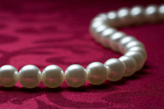 string of pearls Royalty Free Stock Photography