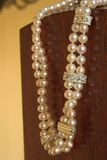 String of Pearls necklace Stock Image