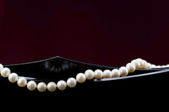 A string of pearls Royalty Free Stock Photos